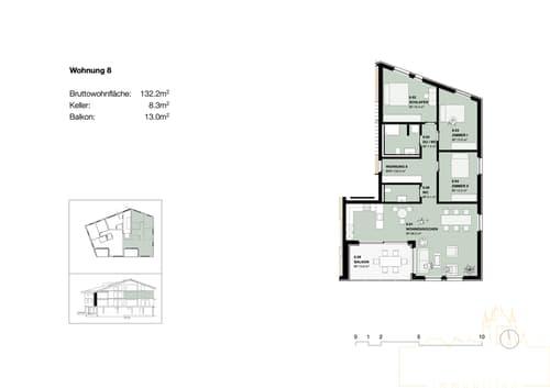 4.5 Zimmer Neubauwohnung in Wimmis
