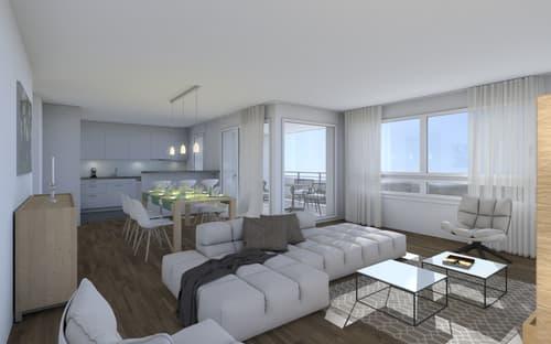 Preiswerte und komfortable 5 1/2 - Zimmer-Wohnung «Im Bad» CH-4657 Dulliken