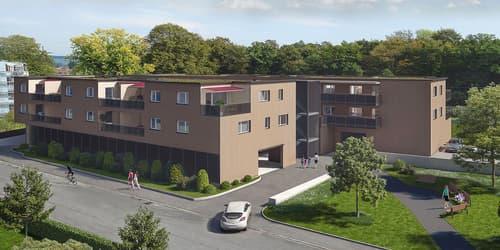Garagenplätze zu verkaufen beim Wohnpark Gentertstrasse 21/23, 8181 Höri
