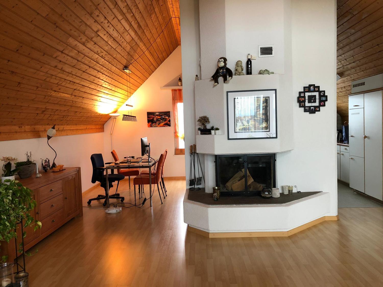 Maisonette-Wohnung mit Cheminée