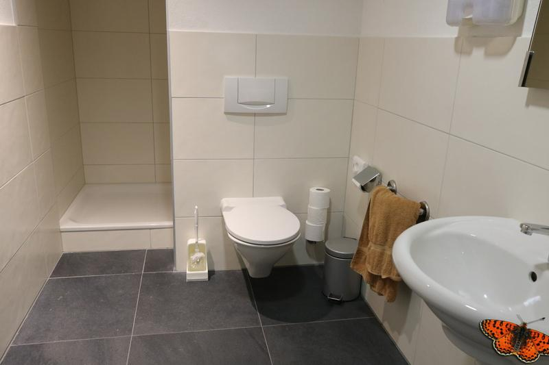 WC par étage avec douche