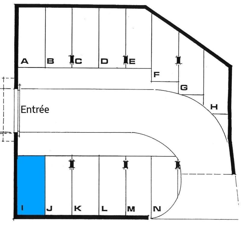 Garage box - garage Prétaire - Verbier (4)
