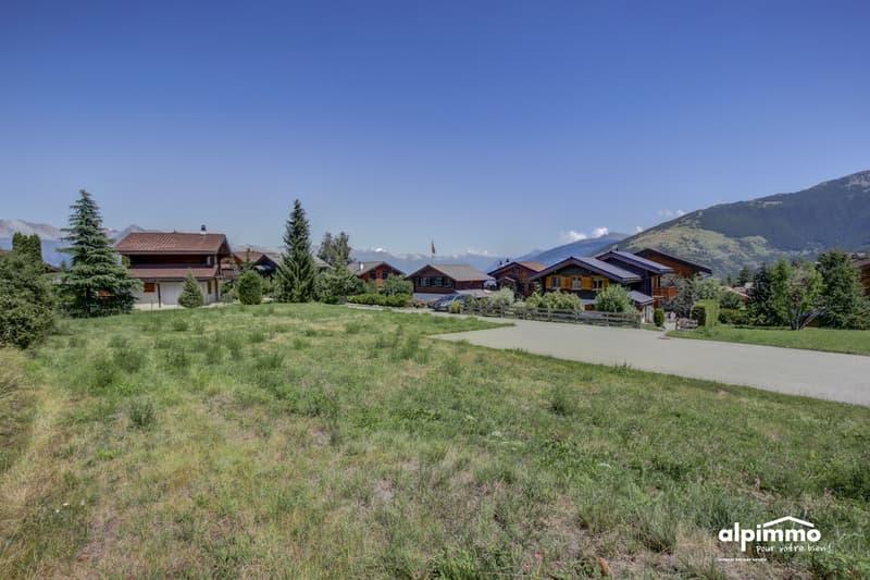 A vendre à Nendaz: Terrain à bâtir , quartier calme, bien ensoleillé! (1)