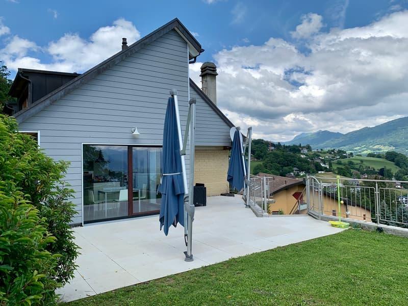 Villa de 6.5 pièces à Chardonne vue panoramique Léman et Alpes (1)