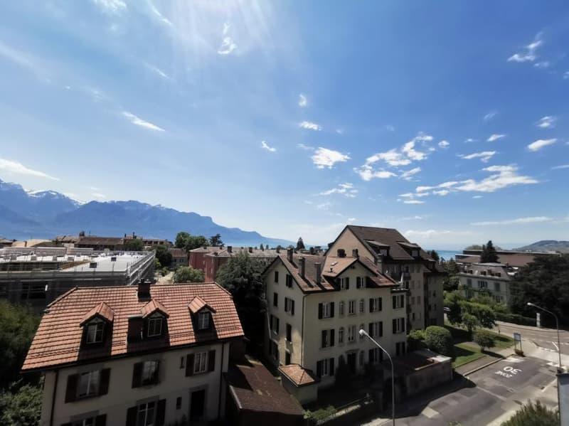 La Tour-de-Peilz - Magnifique appartement meublé avec balcon baignoire et proche de toutes commodités (1)