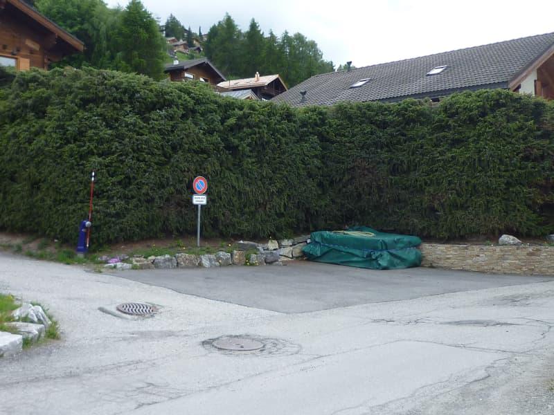 Places de parc extérieures à vendre à Haute-Nendaz proche du centre (1)