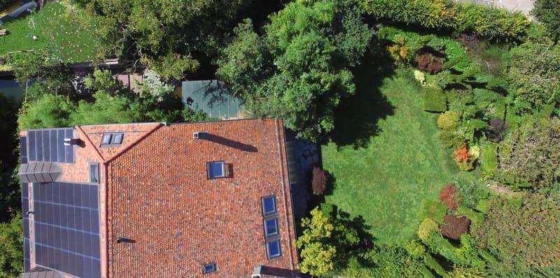 Rare, à 12 min. de Lausanne, magnifique demeure du 18ème avec jardin (2)