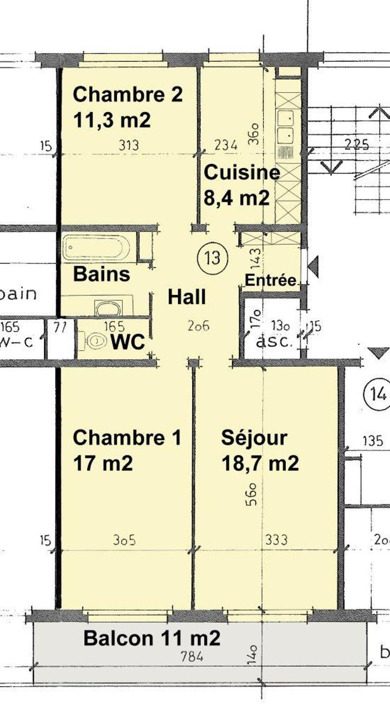 BEL APPARTEMENT SANS VIS-A-VIS (13)
