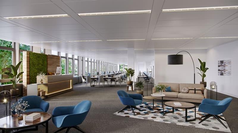 Rare ! Magnifiques bureaux de 320 m² dans le quartier de Vidy (1)