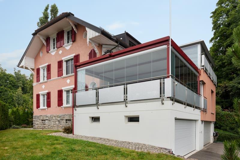 Grande maison individuelle avec vue sur le lac et les Alpes (2)