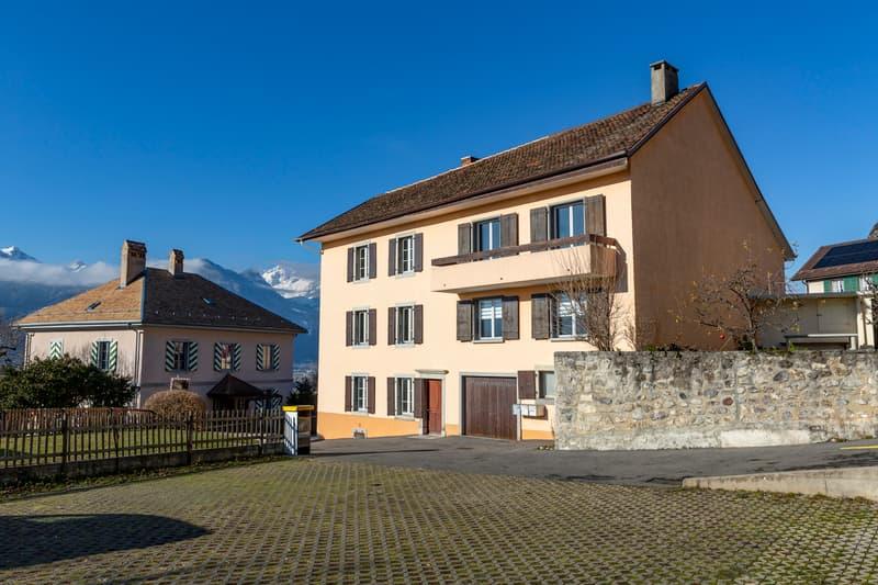 Immeuble d'habitation avec rendement brut 4.17 % (1)