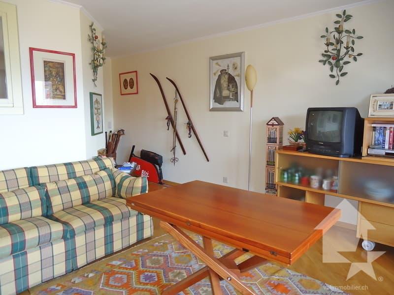Bel appartement avec  vue splendide sur  les Alpes valaisannes (1)