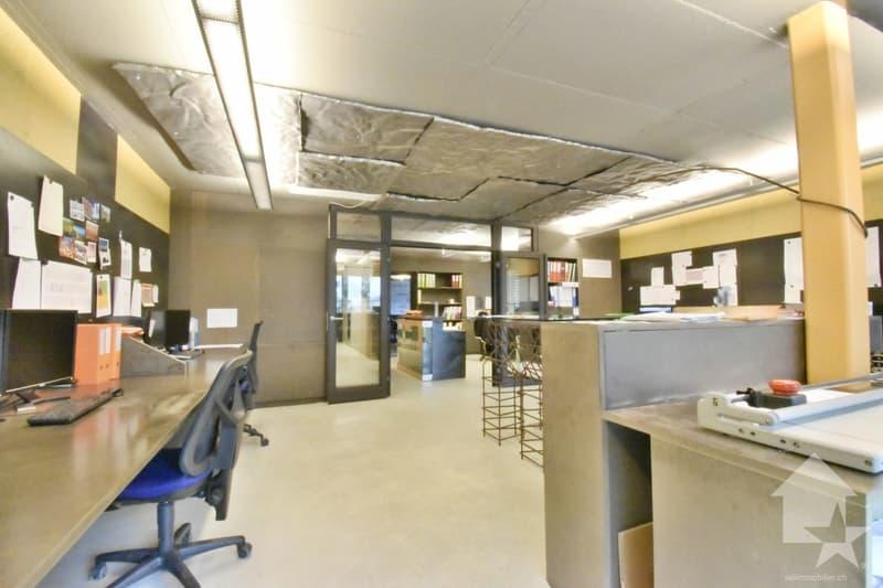 Collombey, appartement 4.5 pces  avec loggia, utilisé comme bureau (2)
