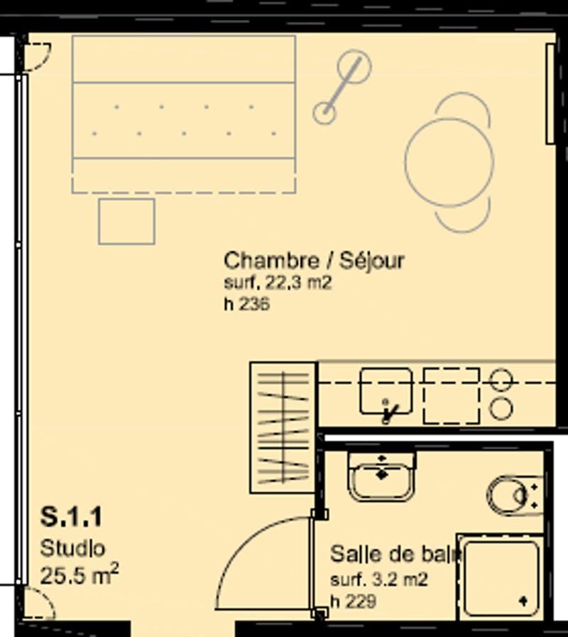 CityZen Parc - Nouvelle résidence au coeur de la Chaux-de-Fonds (6)