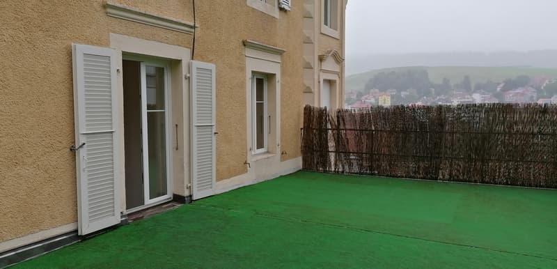 Rue de la Côte 40, Appart. 3 1/2 pièces avec terrasse (12)