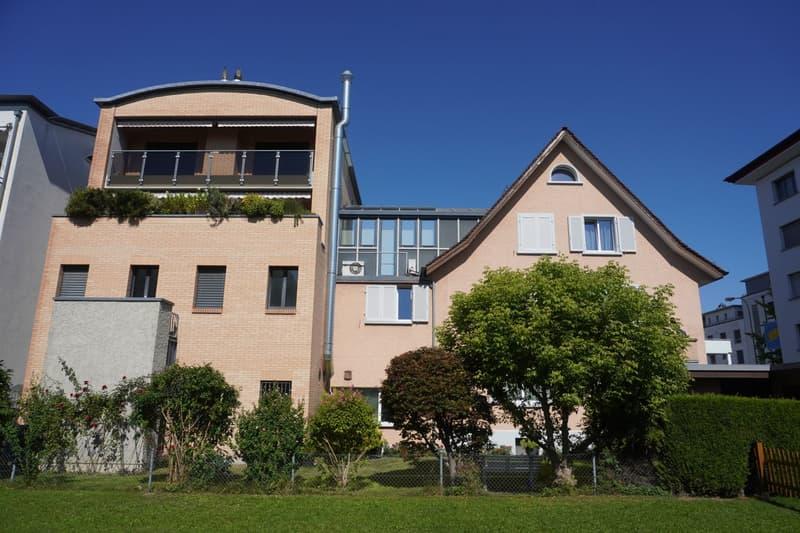 Vollvermietetes Wohn- und Geschäftshaus an prominenter Passantenlage im Zentrum von Wettingen (2)