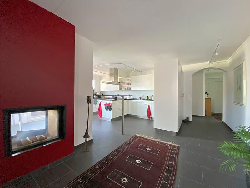 Eingang_Küche Attikawohnung