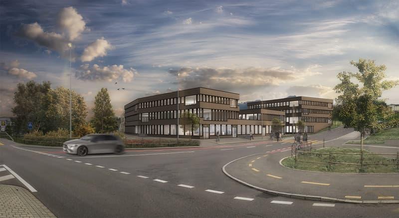 Ihr eigenes Gewerbe-, Geschäftshaus nahe Autobahnanschluss - Reussperle Buchrain (1)