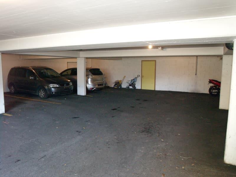 Sierre, places parc dans un garage près du centre-ville (4)