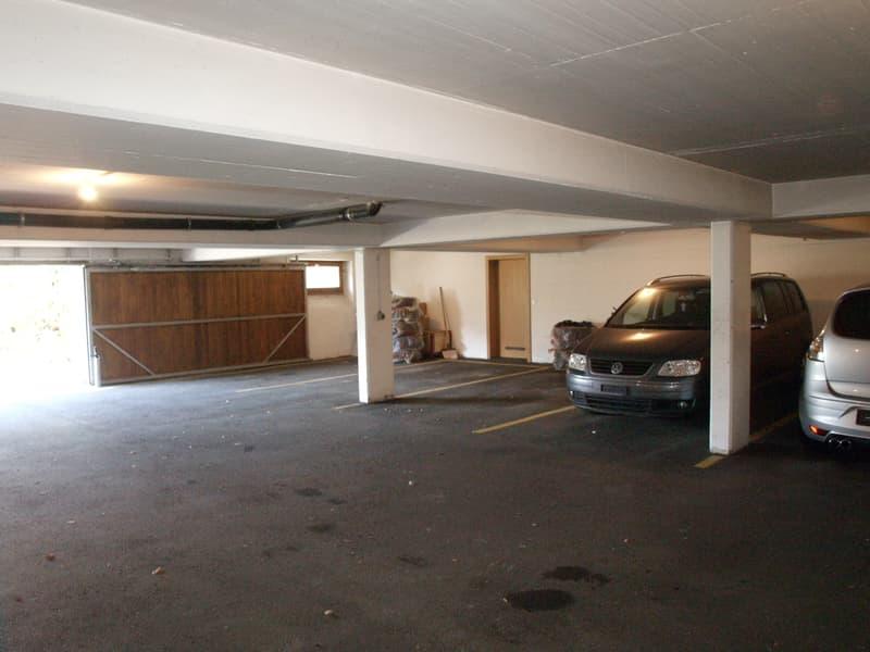 Sierre, places parc dans un garage près du centre-ville (2)