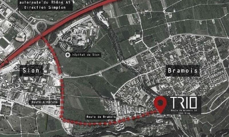 Appartement de 4.5 pièces en Duplex en construction à Bramois (5)