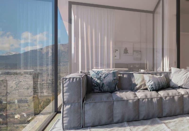 Appartement de 4.5 pièces en Duplex en construction à Bramois (2)