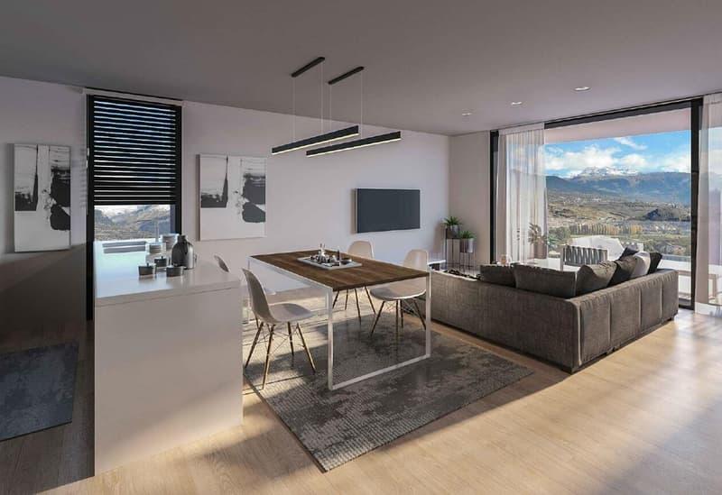 Appartement de 4.5 pièces en Duplex en construction à Bramois (1)
