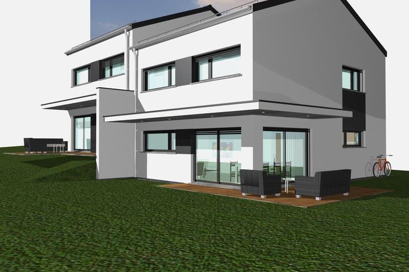 Villas jumelées modernes à prix fixe à construire sur VOTRE terrain (1)