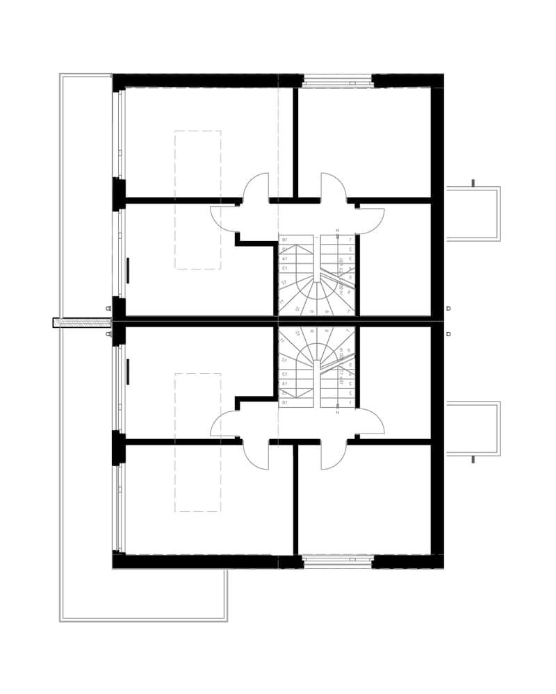 Villas jumelées modernes à prix fixe à construire sur VOTRE terrain (3)