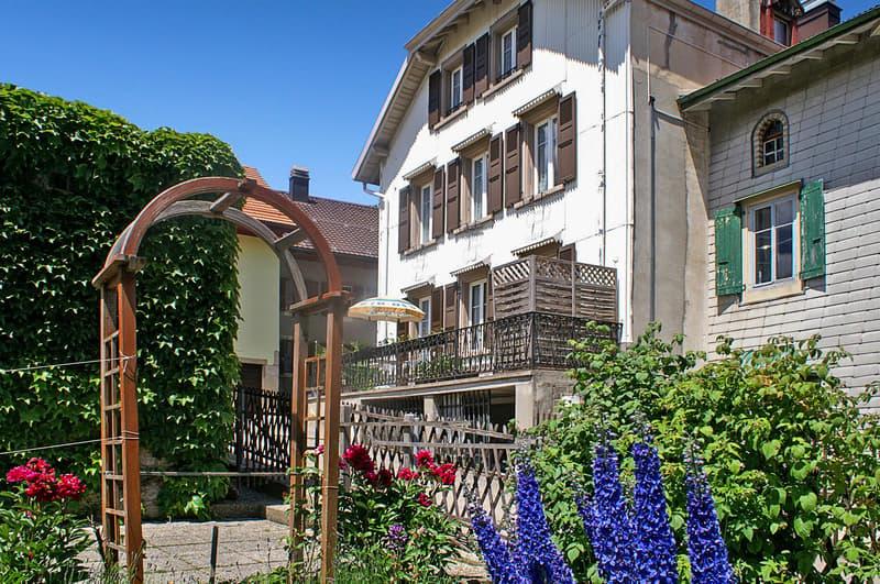 Grande et belle maison avec jardin! (1)