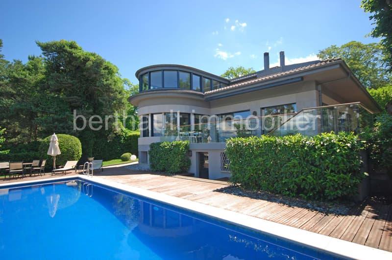 Magnifique villa contemporaine avec vue lac (1)