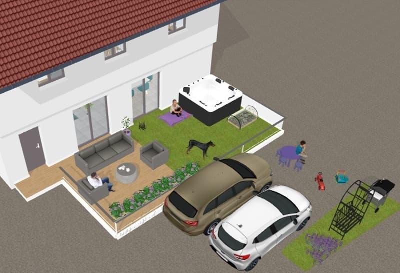 Terrain avec permis de construire en force, projet à personnaliser (2)