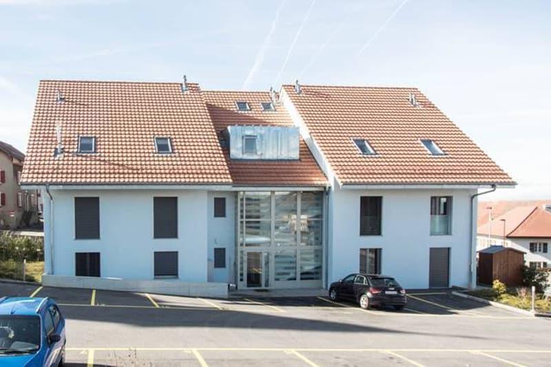 Appartement neuf, balcon, Thierrens hypercentre, loué, rendement de 6,3% sur fonds propres (5)