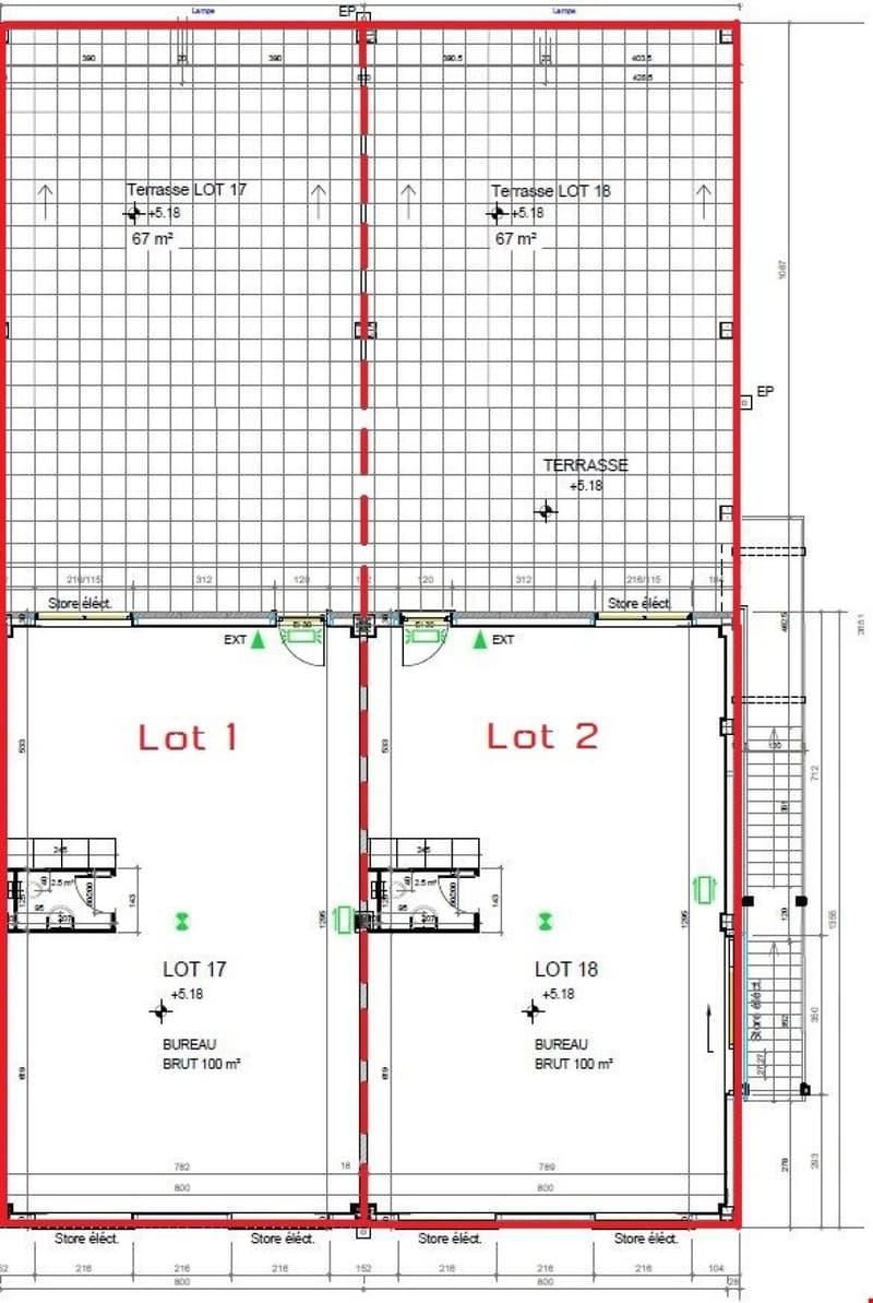 Devenez propriétaire de vos locaux 120 ou 240 m2, dès CHF 300/mois (2)