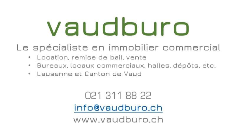 Bureaux de 85 m2 à louer à Lausanne (4)