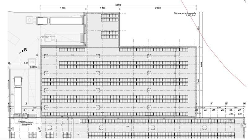 Projet de construction de votre future halle à louer Echandens (1)