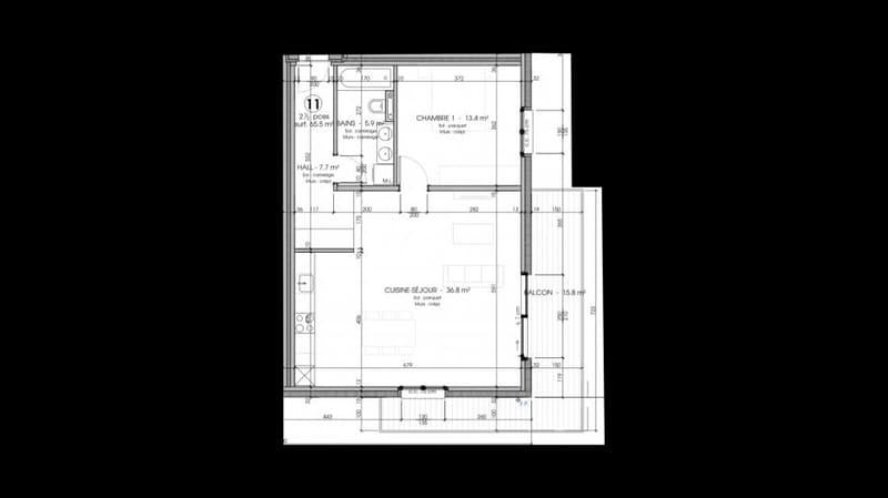 2.5p neuf avec balcon (11)
