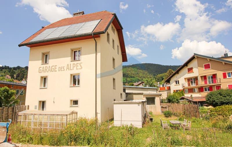 Immeuble Minergie de 3 logements avec 1 garage (2)
