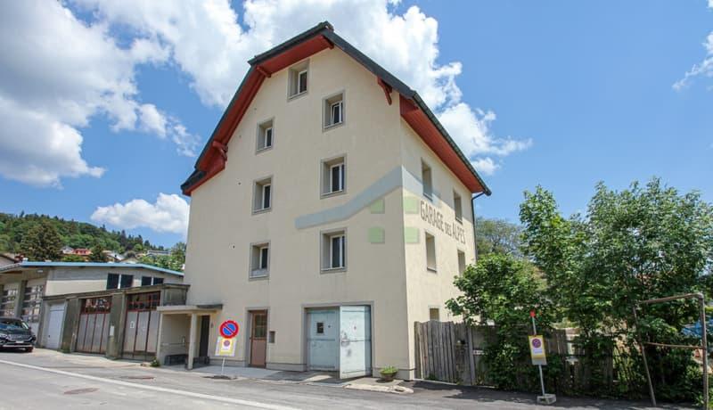 Immeuble Minergie de 3 logements avec 1 garage (1)