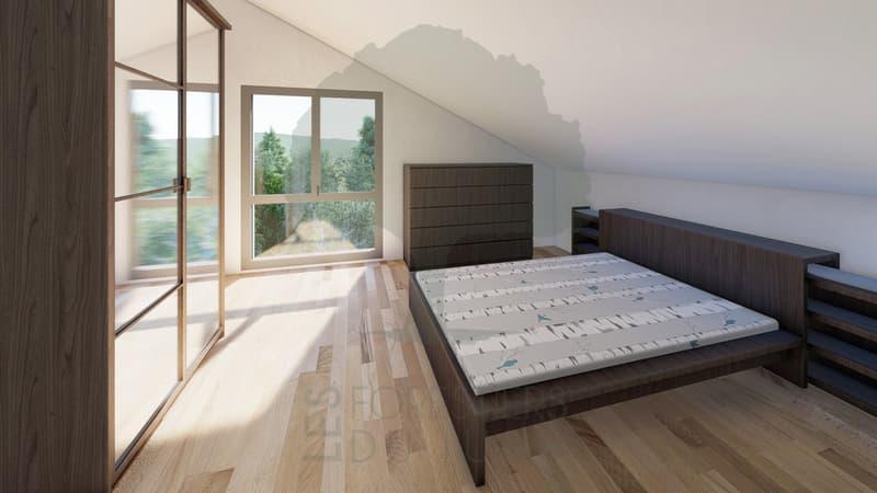 Attique de 5.5 pièces à Boécourt dans un immeuble résidentiel neuf (2)