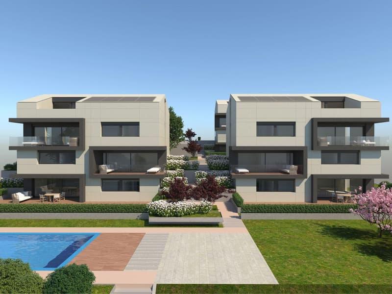 Raffinata Residenza Neggio di 9 appartamenti in vendita - Appartamento 2.5 locali (2)