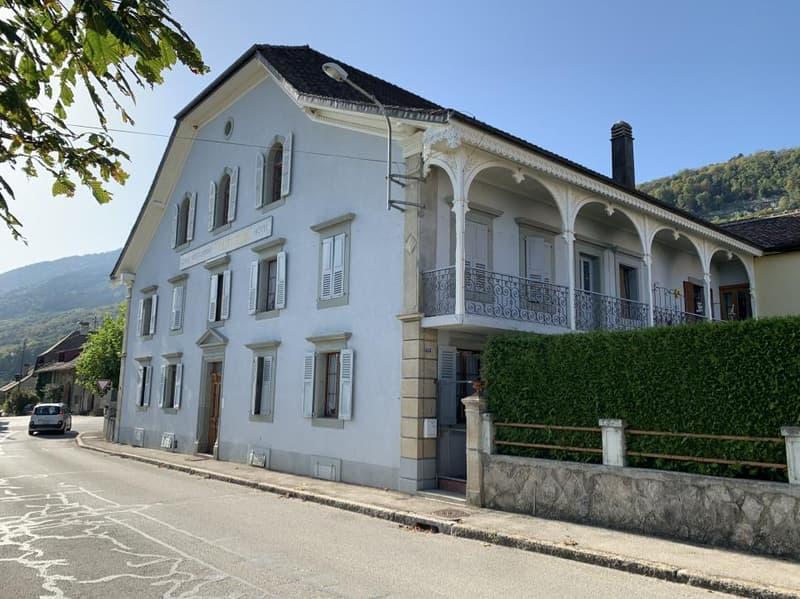 Un superbe  bâtiment  -  local commercial + appartement + chambres - disponible combles ! OUVERT A TOUTE PROPROSITION (1)
