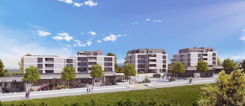 Eolia, votre futur quartier à Cossonay - Surfaces commerciales/administratives de 39 à 97m2 (1)