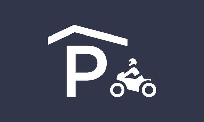 Place de parc intérieure pour moto (1)