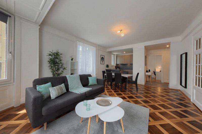 Appartement meublé de 3.5p à 5 minutes du lac (1)