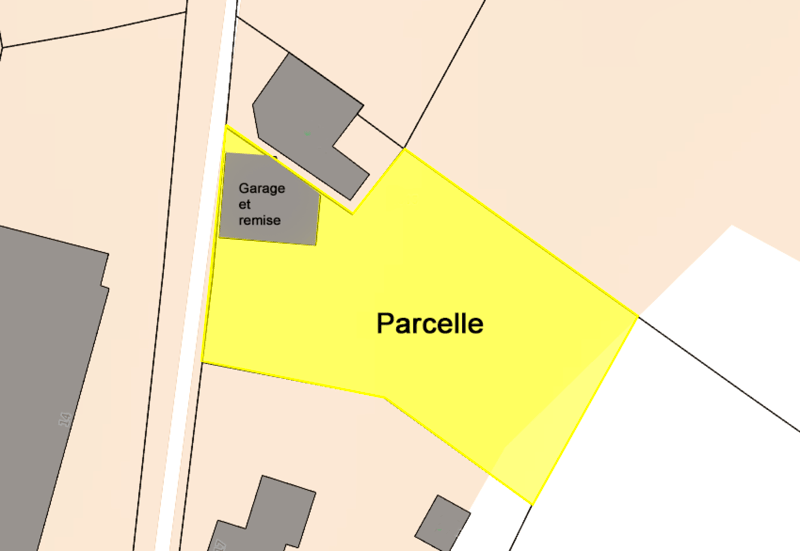 Belle Parcelle de 978 m2 (2)