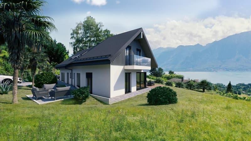 Vue angle villa