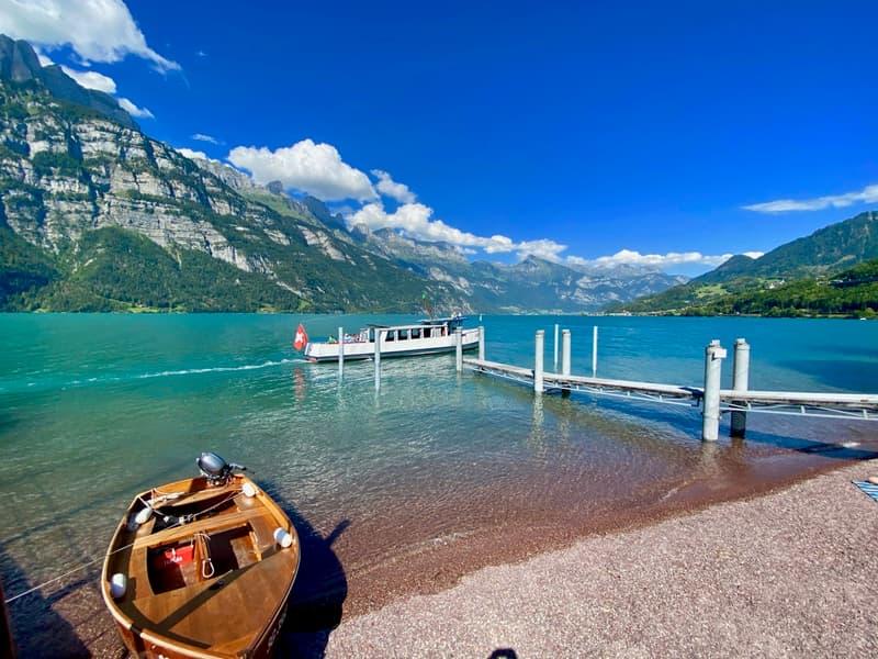 Der Walensee - Sommer wie Winter ein nebelfreies Paradies!
