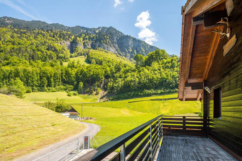 Freistehendes Einfamilienhaus im Grünen (1)