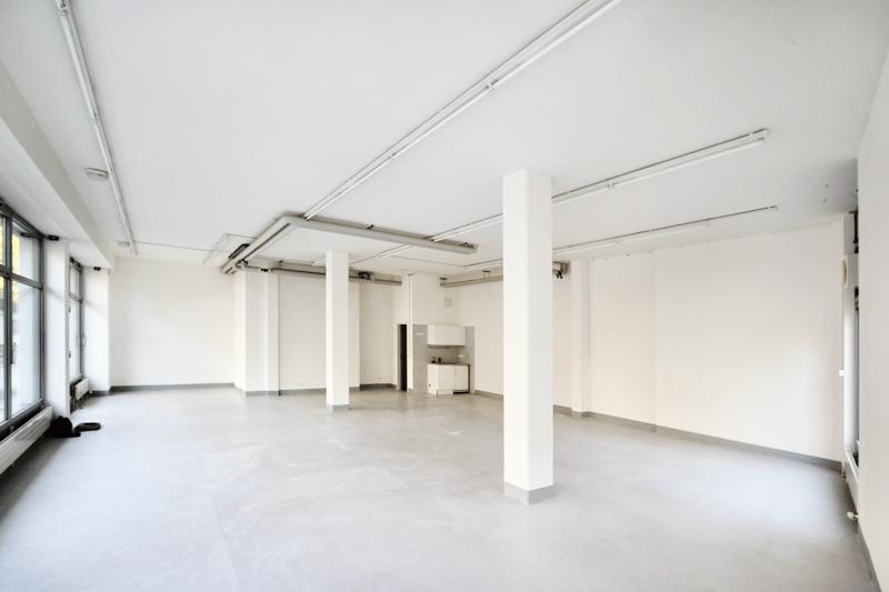 Grossflächige Räumlichkeit in der Gartengasse 14 (rote Fläche im Plan)Aktuell als Architekturbüro vermietet.
